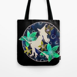 fly to th moon Tote Bag