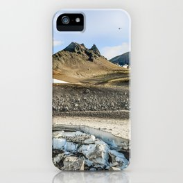 """Extrusion """"Camel"""" at the foot of the Avachinsky volcano iPhone Case"""