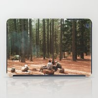 camp iPad Cases featuring Camp by Casey Afton Hess