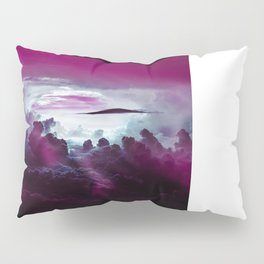 I Want To Believe -Pink Pillow Sham