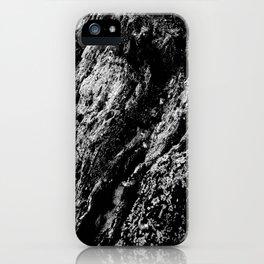 White Wood Stone iPhone Case