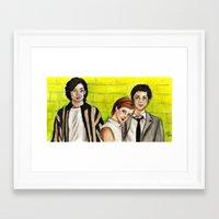 the perks of being a wallflower Framed Art Prints featuring The Perks of Being a Wallflower by Elena Olshin