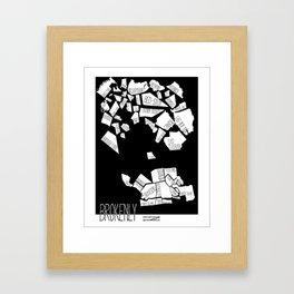 Brokenlyn Framed Art Print