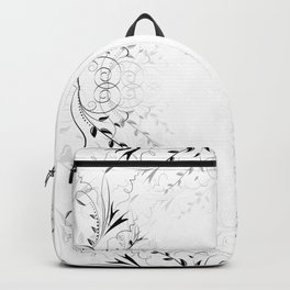 Abstract floral ornament Backpack