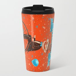 Penny-farthings circus Travel Mug