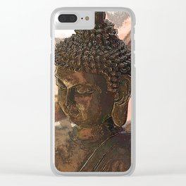 Looking For Buddha 32f Clear iPhone Case