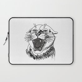 tiger angry growls ( https://society6.com/vickonskey/collection ) . Art Laptop Sleeve