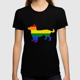 Rainbow Chihuahua T-shirt