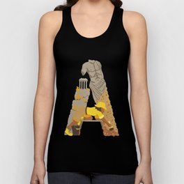 A as Archaeologist Unisex Tank Top