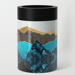 Teal Afternoon Can Cooler