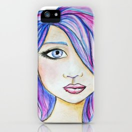 Color Girl iPhone Case