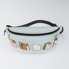 Winter forest animals Fanny Pack