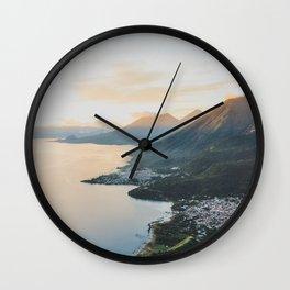 Lake Atitlán II, Guatemala Wall Clock