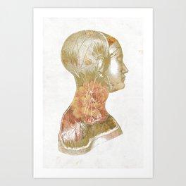 Inside Girl Art Print