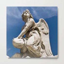 WHITE ANGEL - Sicily - Italy Metal Print