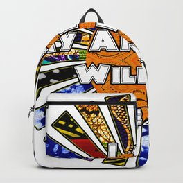 I Am My Ancestors Wildest Dreams African Fabric Collage Backpack