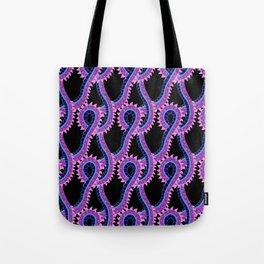 Alien dragon pattern Tote Bag