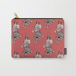 Fu The Rabbit Skellie Carry-All Pouch