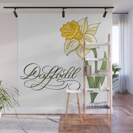 Yellow Daffodil Wall Mural