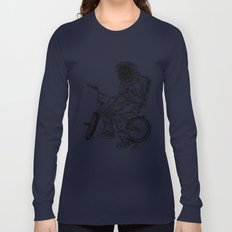 Void in Space (Blk) Long Sleeve T-shirt