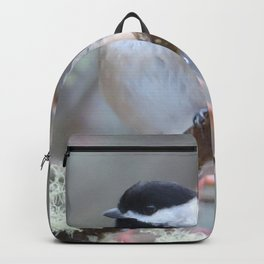 Chickadee in the Alder Tree Backpack