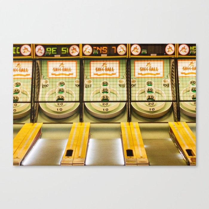 Skee Ball Canvas Print