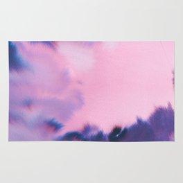 water color wave III collab Dylan Silva Rug