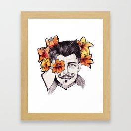 Lilies - Dorian Pavus Framed Art Print