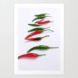 Chili pep Art Print