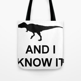 Extinct T-Rex Tote Bag
