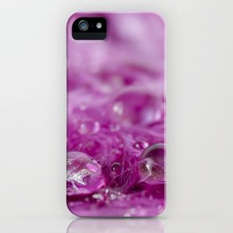 Drops in feathers iPhone Case