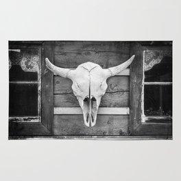 Buffalo Skull Rug