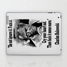 BUKOWSKI quote - FUCK it Laptop & iPad Skin