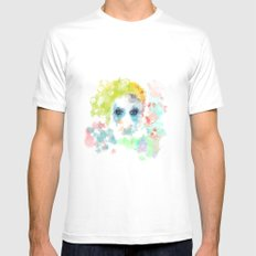Spring Impression  MEDIUM White Mens Fitted Tee