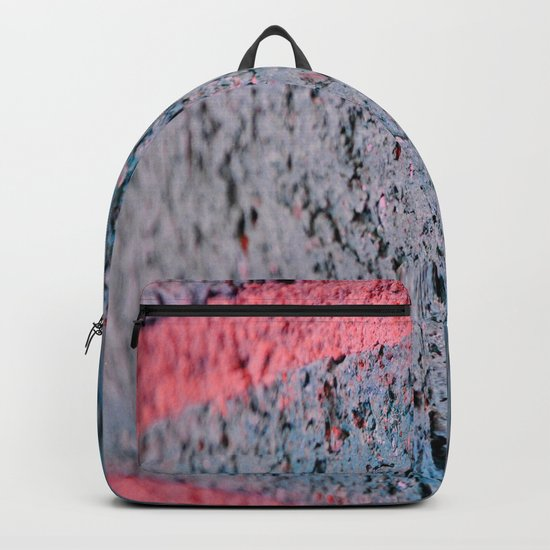 Pink Brick Backpack