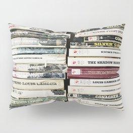 louis l'amour paperbacks Pillow Sham