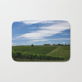 wine and its country Bath Mat