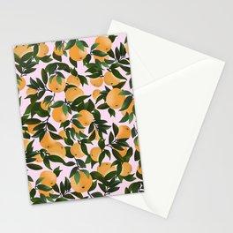 COTTAGE ORANGES PATTERN Stationery Cards