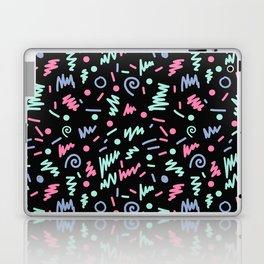 Minimal memphis 80s style pattern minimalist art and decor nursery baby Laptop & iPad Skin