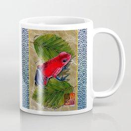 DW-002 Floating Frog Coffee Mug