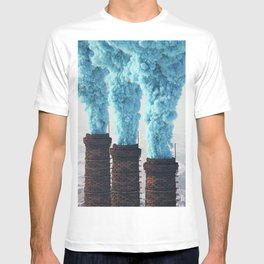 Blue Pollution T-shirt