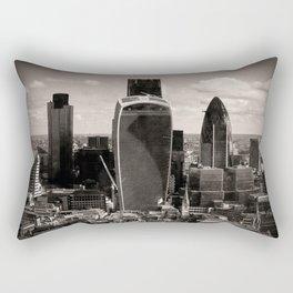 London Cityscape Skyline England UK Rectangular Pillow