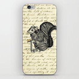Warrior Squirrel iPhone Skin