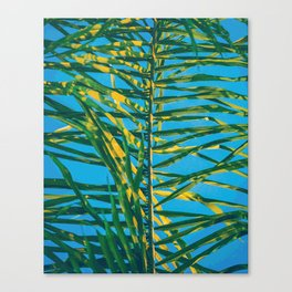 Palm tree V5 #society6 Canvas Print