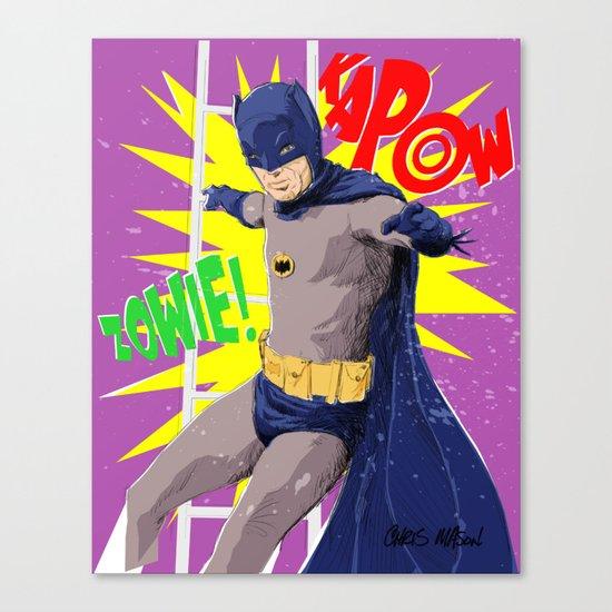 ZOWIE KAPOW! Canvas Print