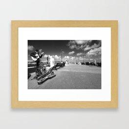Cornish Buskin  Framed Art Print