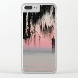 The Sunrise Weeping Tree Clear iPhone Case