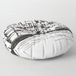 Habitat 67 Floor Pillow