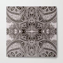 paisley dagger Metal Print