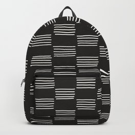 hatches –almost black and white Backpack